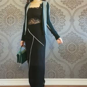 New Givenchy wool silk skirt